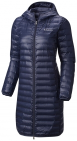 Kurtka damska Columbia Flash Forward Long Down Jacket