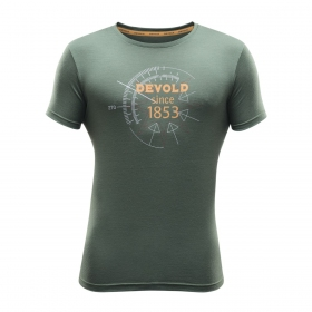 T-shirt męski Devold Compass (Lifestyle)